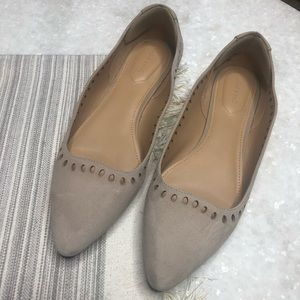 Violet & Red Cream Stellah Flats Size 9.5